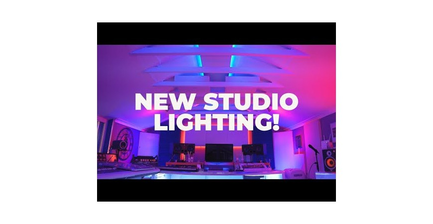 Fitting and testing new studio lights