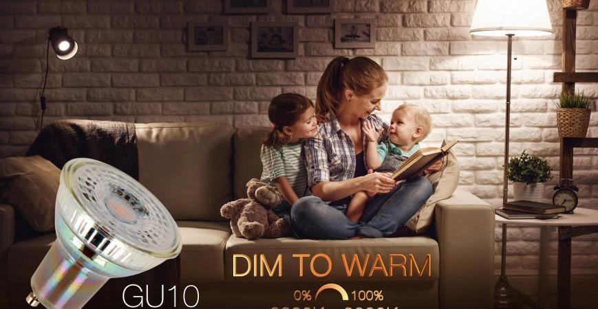 Dim to Warm LED lights